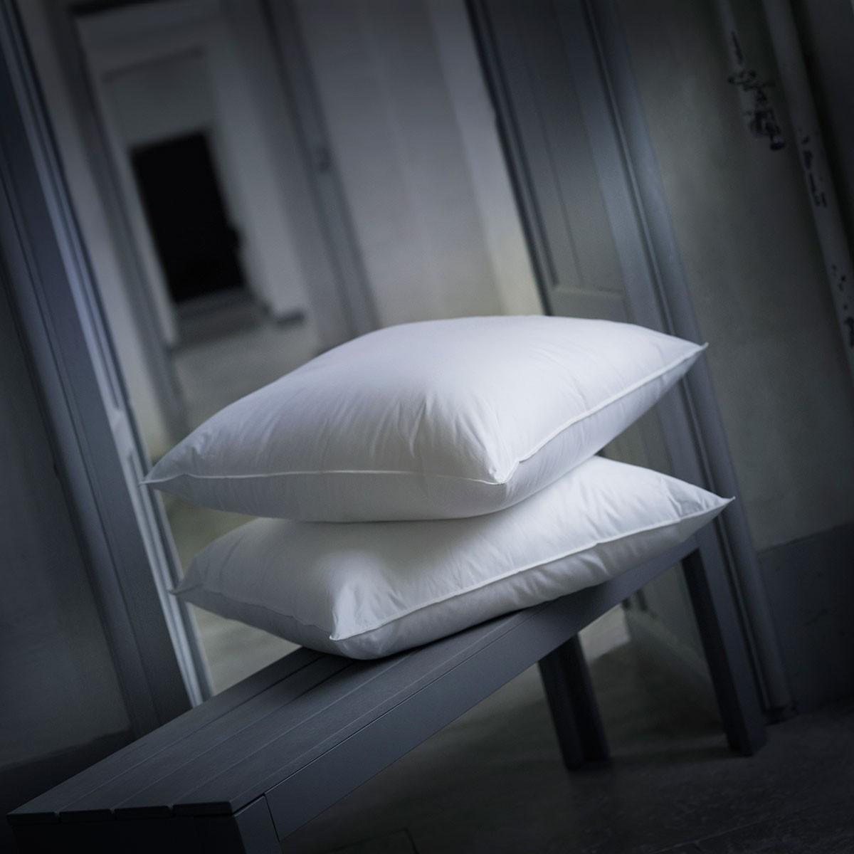 Microfiber Flexible Pillow Alliance Bolster Natural